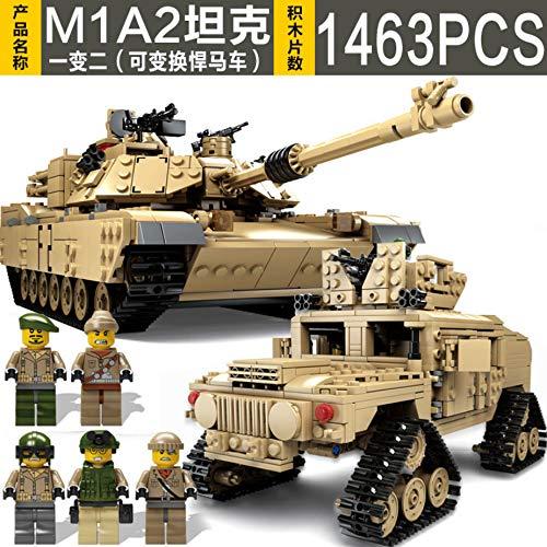 PampasSK Blocks - Sale!! Military Battle Loepard 2 II M60 99 Type Tank DIY Building Blocks Bricks Toys Compatible Children Gift 1 PCs