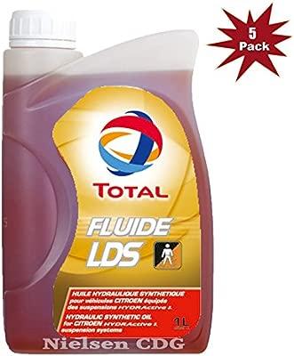 Aceite de suspensión hidráulica de la marca Total Fluide LDS para Citroen, 5 l