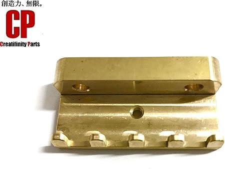 Creatifinity parts CTSC-1 ブラス製 極厚ファットタイプ トレモロクロー スプリングハンガー フロイドローズ等に 真鍮 CTSC-1