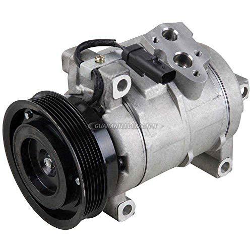 AC Compressor & A/C Clutch For Dodge Charger Challenger Magnum Chrysler 300 300C 5.7L 6.1L Hemi V8 SRT8 2005-2011 - BuyAutoParts 60-01940NA NEW ()