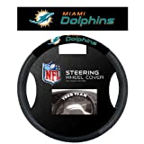 Ride like the wind while you're showing your support with this slip-on steering wheel cover from Fremont Die. It's decorated in the team colors, made of poly-suede and mesh and designed with the team name and logo. Designed with a snug fit to...