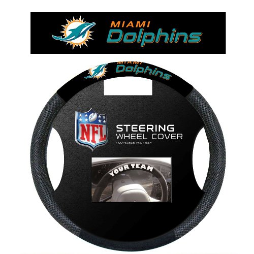 NFL Miami Dolphins Steering Wheel - Mall Miami Dolphin