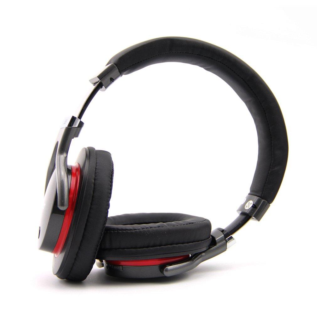 ZEALOT B5 - Auriculares Inalámbricos de Alta Fidelidad para Smartphone PC y MP3/4 (Bluetooth, Hifi Estéreo, Micrófono Incorporado, Soporta Tarjeta TF) ...