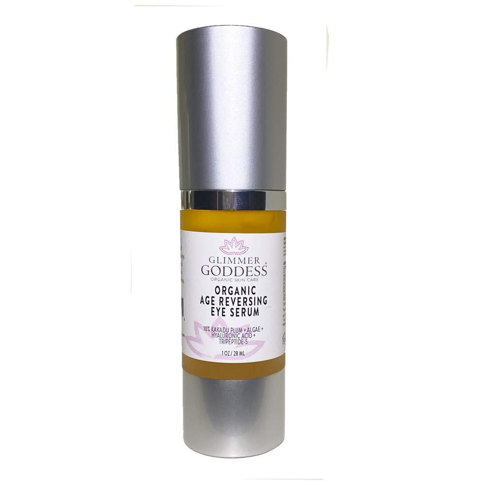 Amazon Com Organic Eye Serum Peptide Eye Cream For Wrinkles