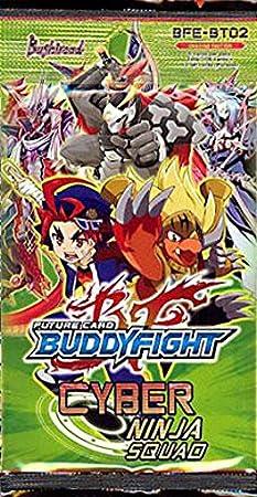Future Card BuddyFight BFE-BT02 Cyber Ninja Squad Booster PACK