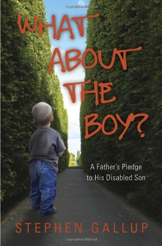 Image of What About the Boy?: A Father's Pledge to His Disabled Son (A true story about relationships and health within a family helping their developmentally disabled child)