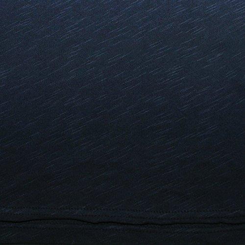 Solid Longsleeve Rom dunkelblau