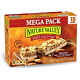 Nature Valley Granola Bars, Sweet and Salty Nut, Almond, 18 Bars, 1.2 oz