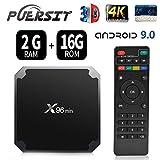 X96 Mini TV Box 2GB RAM 16GB ROM Android 9.0 TV Box with Amlogic S905W WiFi 4K/HD 3D Smart X96 Mini TV Box by Puersit