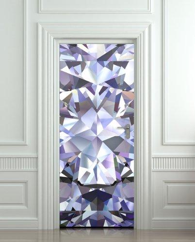 GIANT Door STICKER diamond rhinestone crystal poster mural decole film 30x79\u0026quot; ( & Amazon.com: GIANT Door STICKER diamond rhinestone crystal poster ...