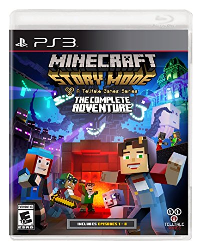 Stories Video Game (Minecraft: Story Mode- The Complete Adventure - PlayStation 3)