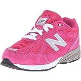 New Balance KV990V4 Infant Running Shoe (Infant/Toddler), Pink/Pink, Toddler