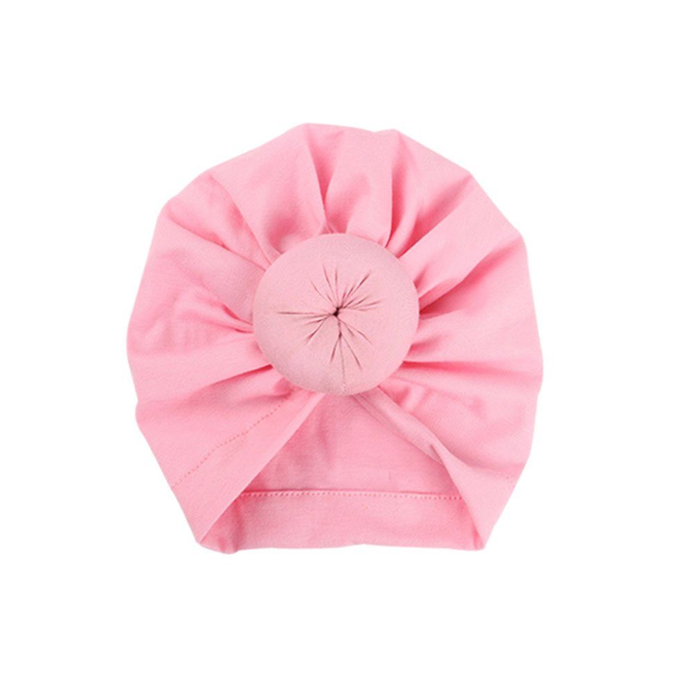Turban Donut b/éb/é,Mou T/ête Wraps pour B/éb/é Filles EMPHY Style Indien Noeuds Bonnet B/éb/é
