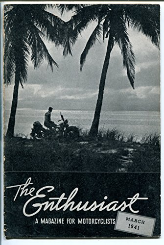 - THE ENTHUSIAST 03/1941-HARLEY-DAVIDSON-HISTORIC MOTORCYCLE-DAYTONA RACE-vg