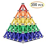 WITKA 350 Pieces Magnetic Building Sticks Blocks Toy Brain Training STEM Toys Intelligence Learning Games Set Gift for Kids