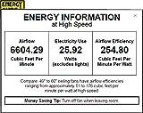 "Minka Aire F853-BN/MM, Aviation, 60"" Ceiling"