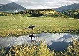 Avanti Press Historic America Blank Notecards, Rocky Mountain Rancher, 10-Count - 32060