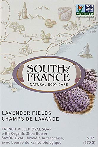 (SOUTH OF FRANCE Lavender Fields Bar Soap, 0.02 Pound)
