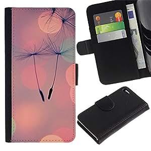 All Phone Most Case / Oferta Especial Cáscara Funda de cuero Monedero Cubierta de proteccion Caso / Wallet Case for Apple Iphone 4 / 4S // Seed Peach Summer Love