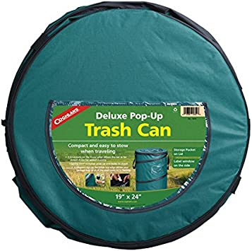 Coghlan/'s Pop-Up Camp Trash Can Portable Collapsible Garbage//Laundry Bin 2-Pack