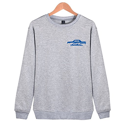 Chrysler 300 SRT SRT8 Sweatshirts Full-Zip Lightweight Hoodies Jacket Long Sleeve Coat