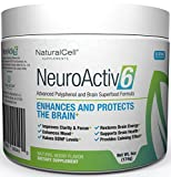NeuroActiv6 Brain Supplement Reds Superfood Powder: Anti-Aging Antioxidants + Polyphenols + Nootropics: Improve BDNF, Mood, Focus, Cognition • Reduce Stress, Anxiety, Fatigue & Brain Fog