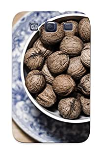 DMkpKkM2993TpYDb Awesome Cups Walnuts Flip Case With Fashion Design For Galaxy S3 As New Year's Day's Gift