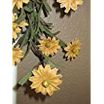 Rustic-Country-Primitive-Tea-Stained-Daisy-Garland-Farmhouse-Floral-Decor