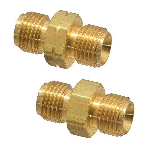 (Twin Torch Welding Hose 'B' Size Coupler Set, Oxygen Acetylene/Propane Couplings)