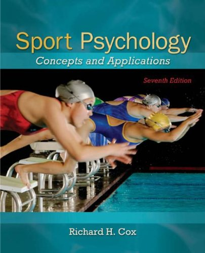 Sport Psychology: Concepts and Applications Pdf