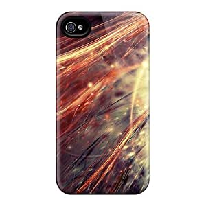 Fashionable Style Cases Covers Skin For Iphone 4/4s- Abstract 3d Lines