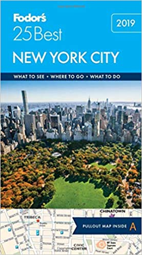 Map Of Tourist Attractions In New York City.Fodor S New York City 25 Best Full Color Travel Guide Fodor S