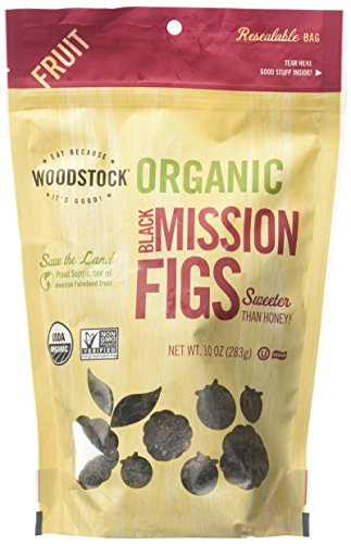 Woodstock Organic Black Mission Figs, 10 oz