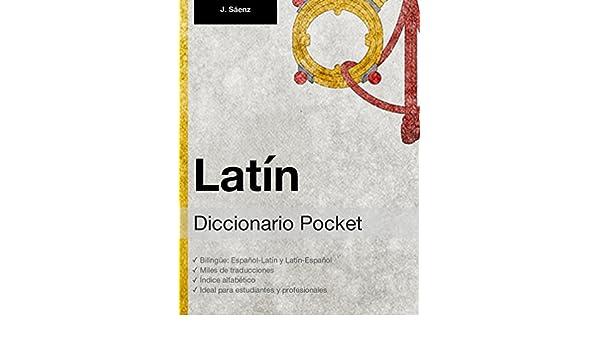 Diccionario Pocket Latín eBook: Sáenz, Juan: Amazon.es: Tienda Kindle