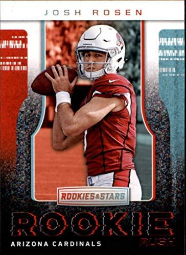 8084ab21e 2018 Rookies and Stars Rookie Rush  6 Josh Rosen Arizona Cardinals NFL  Football Trading Card (made by Panini)
