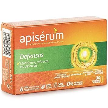 Apisérum Defensas Cápsulas - Mantiene y refuerza las defensas ...