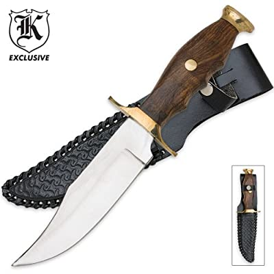 Mountain Man Hunting Knife! Leather Sheath Included!