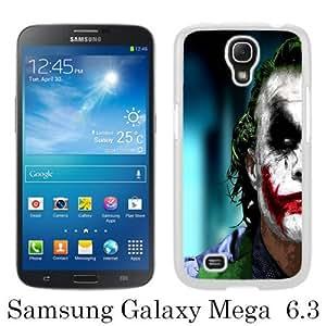 High Quality Samsung Galaxy Mega 6.3 I9200 I9205 Skin Case ,The Joker White Samsung Galaxy Mega 6.3 I9200 I9205 Screen Cover Case Popular And Unique Custom Designed Phone Case