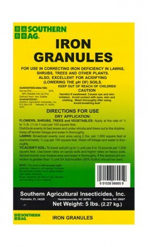 Southern Ag Iron Granules Pound product image