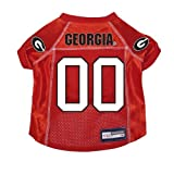 Georgia Bulldogs Premium NCAA Pet Dog Jersey w/ Name Tag SMALL