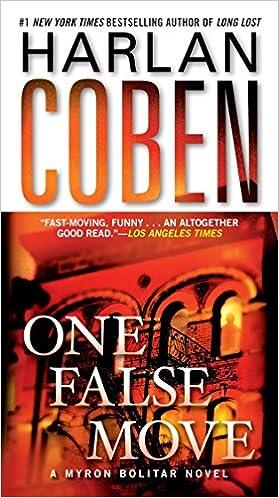 Amazon Fr One False Move A Myron Bolitar Novel Harlan