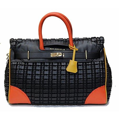 Grand-sac-cabas-Pyla-Rymel-MAC-DOUGLAS-noir-multicolore