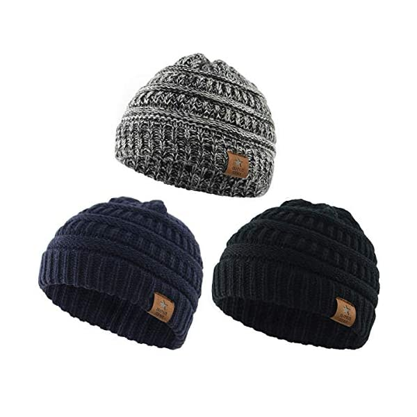 Kerrian Online Fashions 51ZzRlqR3DL Century Star Christmas Beanie Baby Knit Hat Boys Infant Toddler Beanies Cute Winter Hats for Baby Unisex