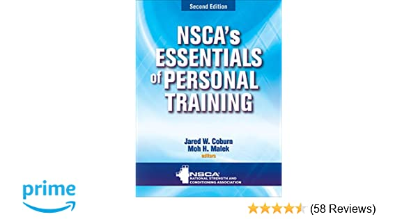 Nsca's Essentials of Personal Training: 8601400009345: Medicine
