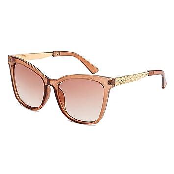 Z&HA Gafas De Sol con Montura Transparente, Tonos De Diseño ...