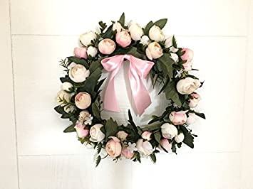 Cunguang Kranz Tur Hangende Dekoration Blumen Wandbild Zimmer