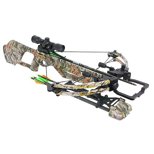 Parker Centerfire Crossbow Package with 3X Multi-Reticle Scope, 165-Pound, Vista (Package Crossbow Parker)