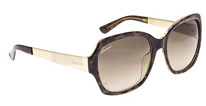 7b3b45f38b03 Amazon.com: Gucci - GG 3803/F/S ASIAN FIT, Oversize, optyl, women ...