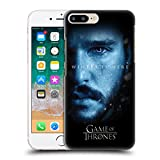 Official HBO Game of Thrones Jon Snow Winter is Here Hard Back Case for iPhone 7 Plus/iPhone 8 Plus