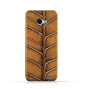 Infinix Note 2 X600 TPU Silicone Protective Case with Natural Dried Leaf